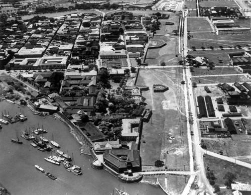 Ang Intramuros sa panahon ng mga Amerikano, lumalaki na ang Lungsod ng Maynila.