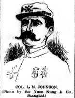 Col. M.L. Johnson, hindi siya opiser ng hukbong Amerikano kundi ginawang Amerikanong opiser ng hukbong Pilipino.