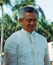 Si Cesar Emilio Aguinaldo Virata.  Mula sa evi.com.