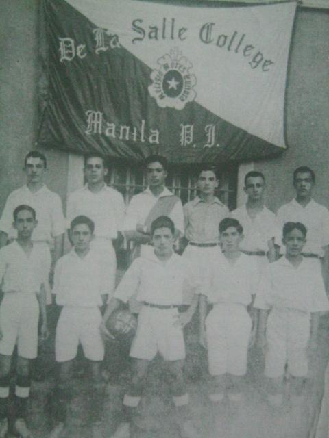 Ang midget football field ng La Salle, 1919.  Mula sa La Salle: 1911-1986.