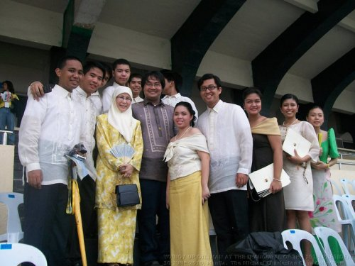 Yo!Noy UP Diliman with Wan Azizah Wan Ismail, Quirino Grandstand, 30 June 2010.