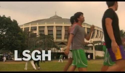 Ang St. Benilde Gymn sa La Salle Greenhills, isa sa 17 kampus ng La Salle Philippines.  One La Salle.