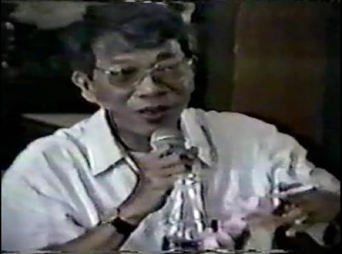 Pinuno ng Philippine Volcanology and Seismology at bayani ng Pinatubo, Direktor Raymundo Punongbayan.