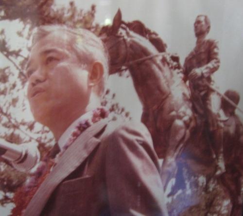 Cesar Emilio Aguinaldo Virata.  Photo displayed at the Emilio Aguinaldo Shrine at Kawit, Cavite.  The shrine for his granduncle.