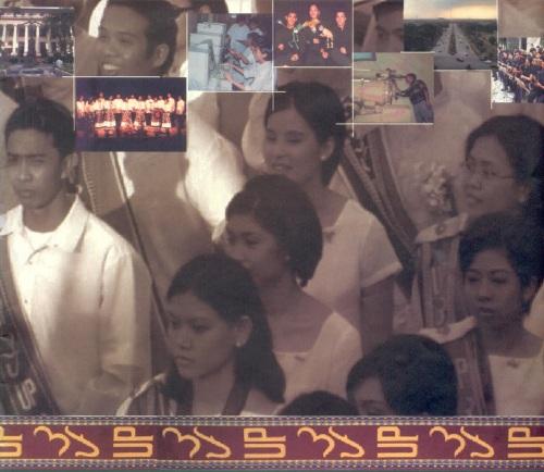 """Ang mga """"sablay"""" na estudyante ng UP.  Mula sa katalogo ng Unibersidad ng Pilipinas."""
