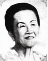 Lola Atang, Reyna ng Kundiman.  Mula sa manilagrandopera.com.