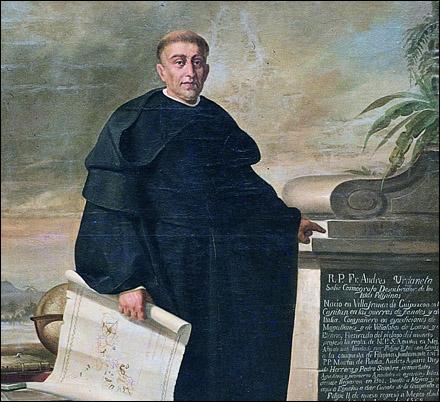 Padre Andres de Urdaneta.  Mula sa san Agustin Church.
