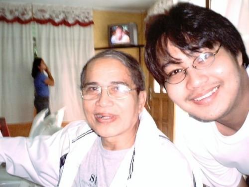 Xiao Chua at Dr. Jaime Veneracion sa Baler, 2005.