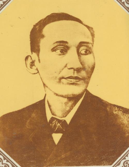 Apolinario Mabini.  Mula sa A Question of Heroes ni Nick Joaquin, sa koleksyon ng Bahay Saliksikan ng Bulacan.