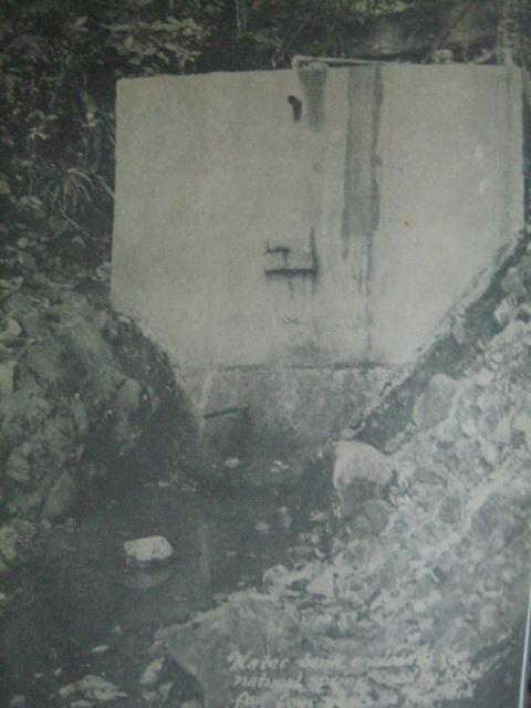 Dam na ginawa ni Rizal sa Dapitan.  Mula kay Diosdado G. Capino at Virginia M. Buenaflor.