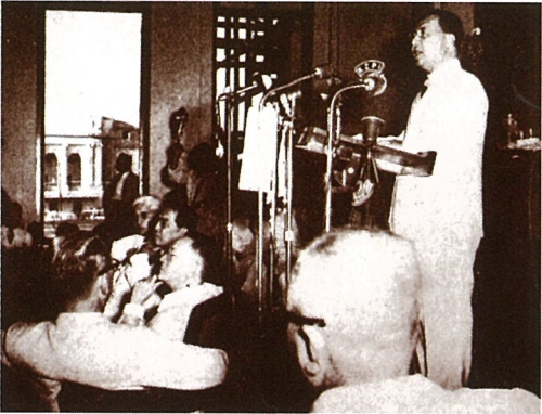 From gov.ph:  President Quirino in 1949.