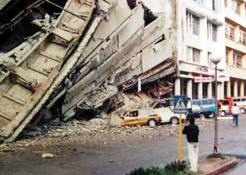 Mga larawan na nagmula sa Baguio Midland Courier, makikita sa http://www.cityofpines.com/baguioquake/quake.html.