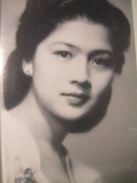 Ang Rosas ng Tacloban.  Mula kay Carmen Pedrosa.
