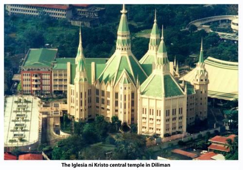Ang Templo Sentral ng Iglesia ni Cristo na itinayo noong 1984.