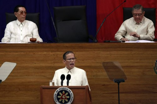PNoy's First SONA, 2010.