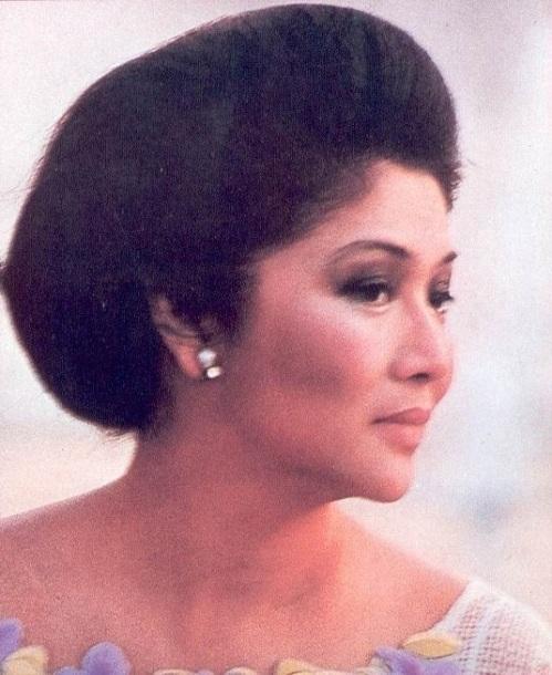 Ang Unang Ginang ng buong Pilipinas.  Mula sa Aklatang Xiao Chua.