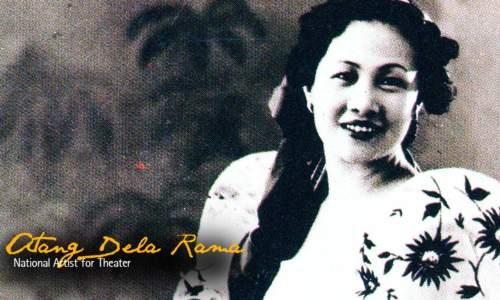 Ka Atang de la Rama sa panahon ng kanyang kasikatan.  Mula sa digitaleducation.net.
