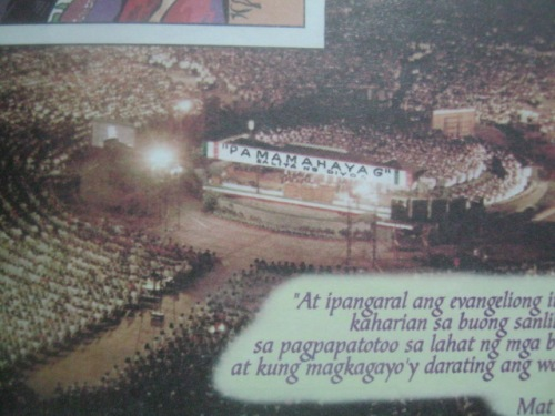 Dakilang Pamamahayag o Grand Evangelical Mission (GEM) mula sa Liwanag Komiks.