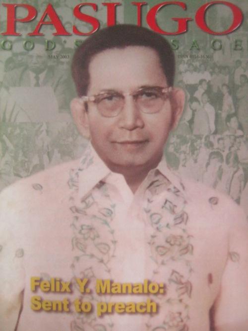 Kapatid na Felix Y. Manalo.  Mula sa Pasugo.