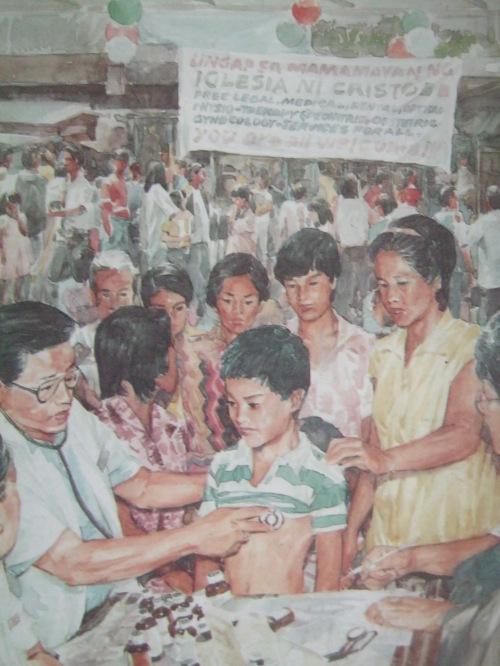Lingap sa Mamamayan at mga misyong medikal.  Mula sa Pasugo.