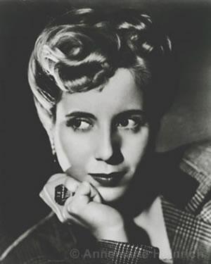 Si Evita bilang aktres.  Mula sa FIHEP.
