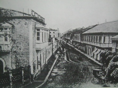Ang Calle Real.  Mula sa Intramuros of Memory.