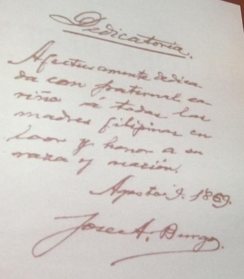 Orihinal na manuskrito ng La Loba Negra na sinulat raw ni Padre Jose Burgos na gawa pala ni... Jose Marco.  Mula kay Dr. Ambeth R. Ocampo.