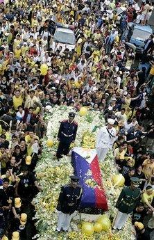 Cory Aquino Funeral, August 5, 2009.