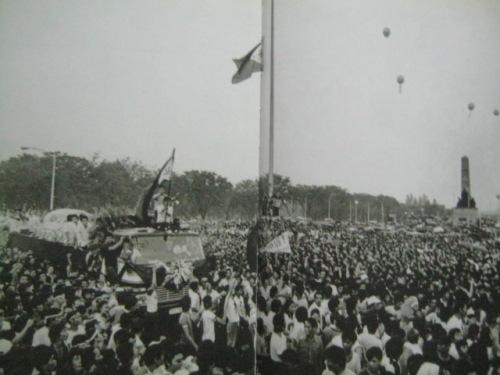 Ninoy Aquino Funeral sa Luneta, August 31, 1983.