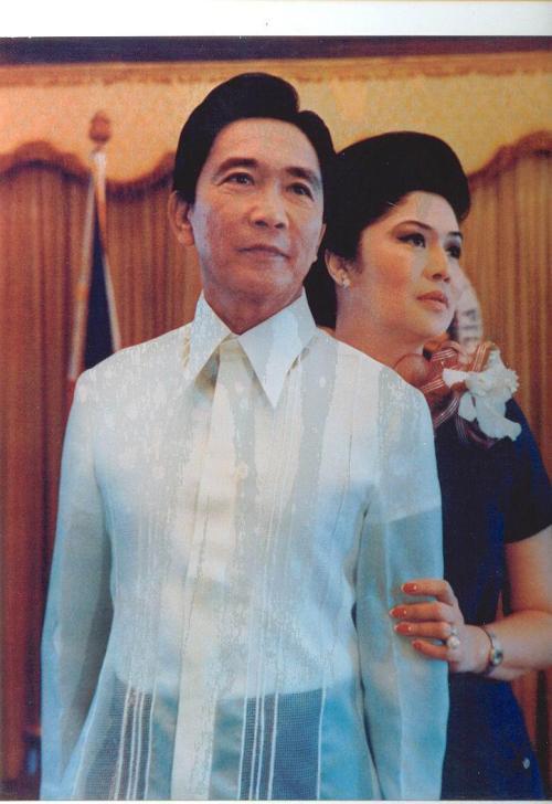 Sina Ferdinand at Imelda Marcos ng Pilipinas. Mula sa Marcos Presidential Center.