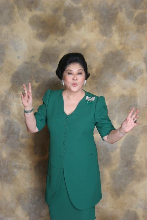 Ang charming na si Mommy Imelda Romualdez Marcos.  Mula sa Marcos Presidential Center.