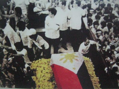 Ninoy Aquino Funeral, August 31, 1983.