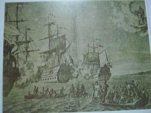 """Ang Battle of La Naval.  Mula sa aklat na """"The Saga of La Naval:  Triumph of a People's Faith."""""""
