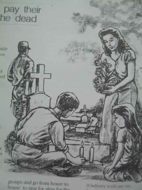 Undas.  Mula sa Filway's Philippine Almanac (1995).