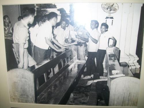 Ang brutal na pagpatay kay Cong. Floro Singson Crisologo sa loob ng Katedral ng Vigan, October 18, 1970.