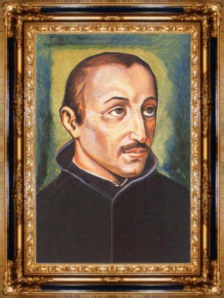 Blessed Diego de San Vitores.  Mula sa opisyal na bahay-dagitab ng Vaticano.