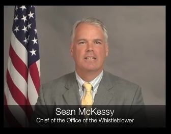 Si Sean McKessy, Pinuno ng Office of the Whistleblower sa Estados Unidos.