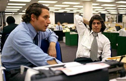 """Woodstein"" -- Si Bob Woodward at Carl Bernstein ng Washington Post."