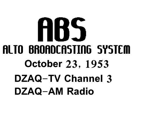 Alto Broadcasting System.  Mula sa http://timerime.com/en/timeline/397360/Timeline+in+Philippine+Television/.
