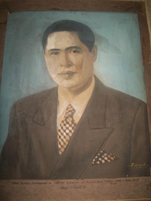 Floro Singson Crisologo bilang isang kongresista, obra maestra sa loob ng Crisologo Memorabilia Museum sa Vigan, Ilocos Sur.