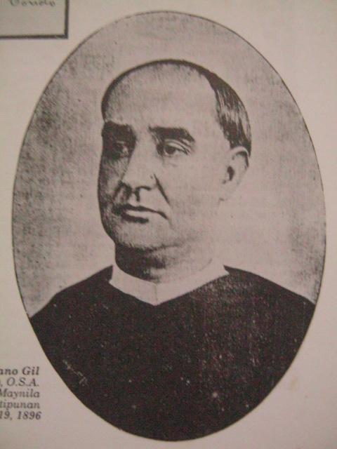 Padre Mariano Gil.  Mula kay Dr. Isagani Medina.