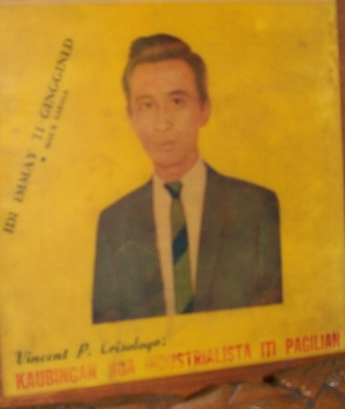 "Si Vincent ""Bingbong"" Crisologo noong kanyang kabataan.  Mula sa Crisologo Memorabilia Museum sa Vigan, Ilocos Sur."