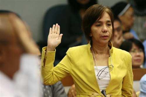 Heidi Mendoza, COA accountant na nagbunyag ng anomalya sa AFP.