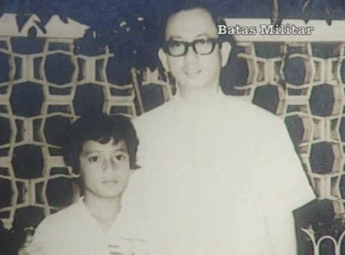 Primitivo Mijares at ang kanyang 16-years old na anak na si Boyet, mula sa Eugenia Apostol Foundation.
