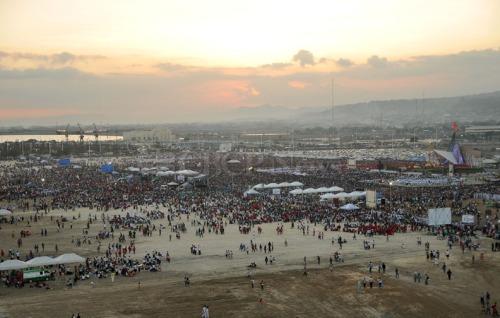 Bahagi ng isang milyong dumalo sa misang pasasalamat para kay San Pedro Calúngsod sa Lunsod ng Cebu, November 29, 2012.