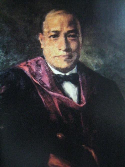 Rafael Palma, kapatid ni Jose, Pangulo ng Unibersidad ng Pilipinas.  Painting mula sa Tanggapan ng Pangulo ng Unibersidad ng Pilipinas.