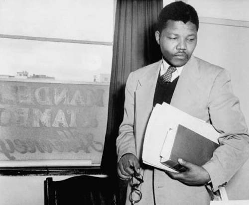 Si Mandela bilang abogado.