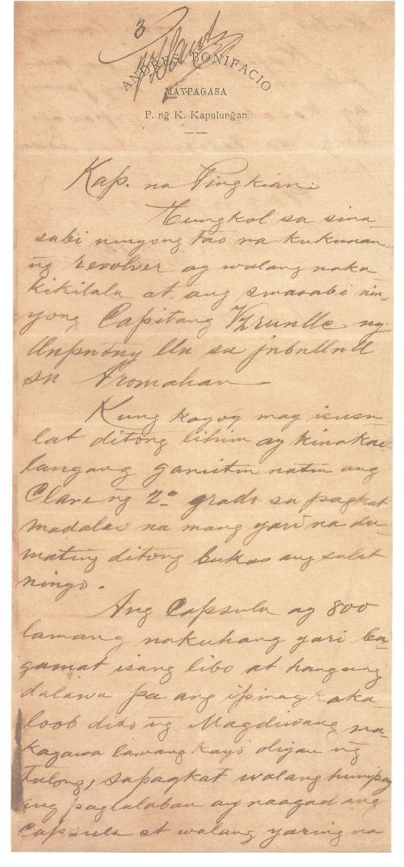 1897-03-08 Bonifacio to Jacinto page 1
