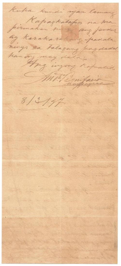 1897-03-08 Bonifacio to Jacinto page 2