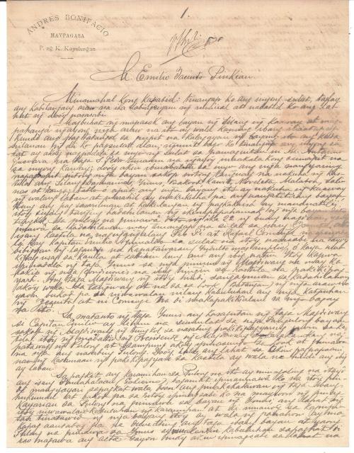 1897-04-24 Bonifacio to Jacinto page 1